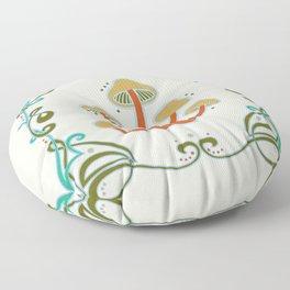 Sacred Mushroom Medicine Floor Pillow