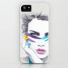 War Paint Sally iPhone Case