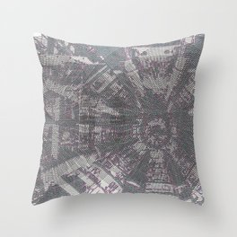 CERN: The Large Hadron Collider: A Love Story Throw Pillow