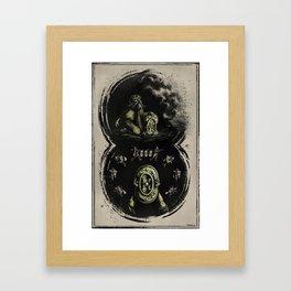 Numa Pompilius, the Ancilia, and the Salii. Framed Art Print