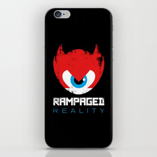 Rampaged Reality iPhone & iPod Skin