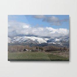 Montana Neighbors 2 Metal Print