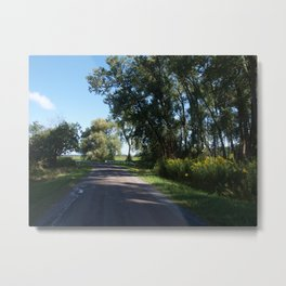 Country Road Metal Print