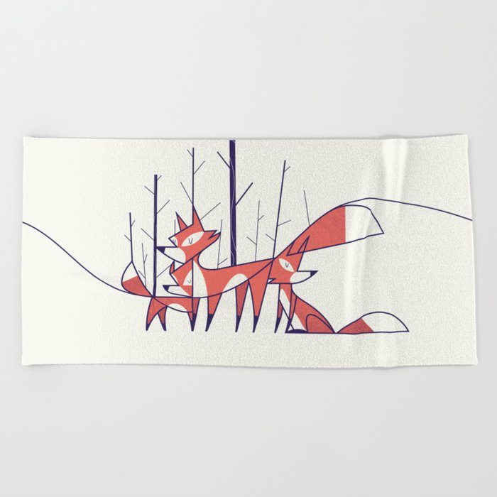 Foxes Beach Towel