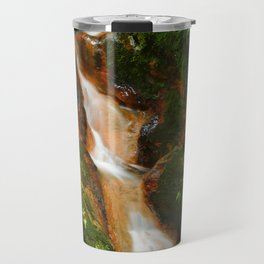 Stream in the forest Travel Mug