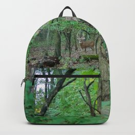 Stag in the Woods Backpack