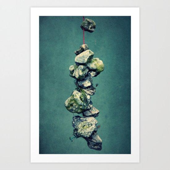 stone Art Print