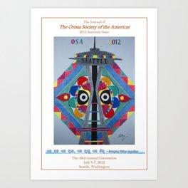 OSA 2012 Art Print
