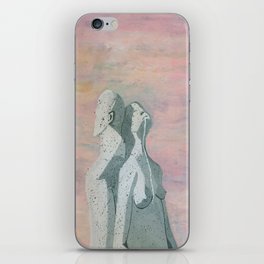 one flew over the statue iPhone Skin