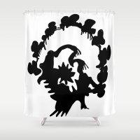 turkey Shower Curtains featuring Turkey by ken green art