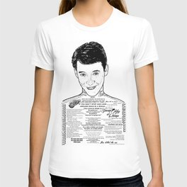 Save Ferris The Righteous Dude T-shirt