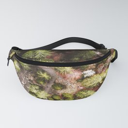 aerial view of the forest Fanny Pack