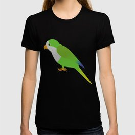 A quaker parrot T-shirt