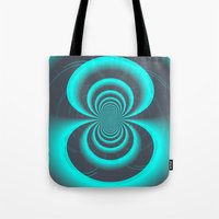 inception Tote Bags featuring Inception by Angela Pesic