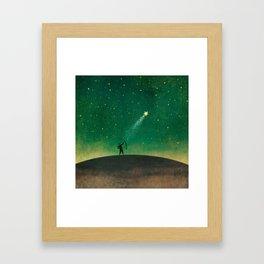 Star Archer Framed Art Print