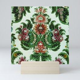 Bouquet Floral Wallpaper Mini Art Print