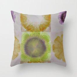 Musardry Feeling Flower  ID:16165-131527-62230 Throw Pillow