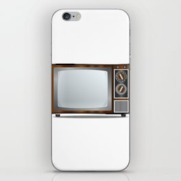 Old Television Set iPhone Skin