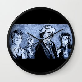 Doctor Who - Five, Six, Seven and Eight Wall Clock