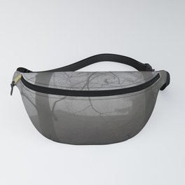 Forest Mist house I Trees I The Forest  Fanny Pack