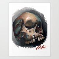 skulldealfourtytwo Art Print