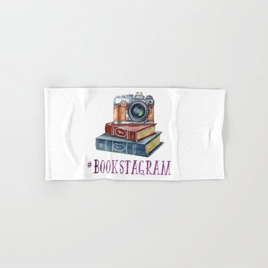 Watercolor Bookstagram Hand & Bath Towel