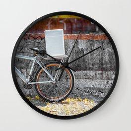 Street Bicycle Wall Clock