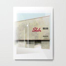 sheba Metal Print