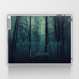 Arbores loqui latine Laptop & iPad Skin