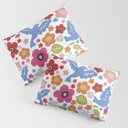 Fly with flowers Pillow Sham