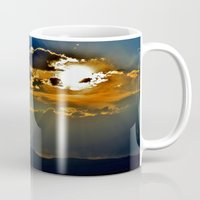 utah Mugs featuring Utah Sunburst by RENA16