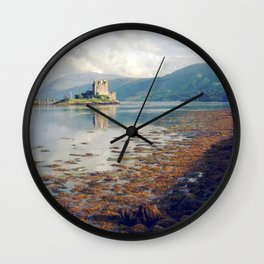 eilean donan castle. Wall Clock