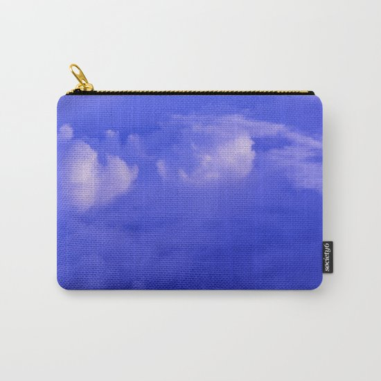 Aerial Blue Hues II Carry-All Pouch