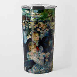 Pierre August Renoir's Bal Du Moulin De La Galette Restored Travel Mug