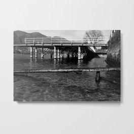 Lago Di Como Metal Print
