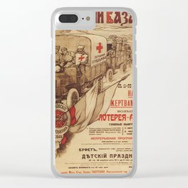 Vintage poster - Russia WWI Clear iPhone Case