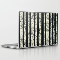 naked Laptop & iPad Skins featuring Naked forest by Rceeh