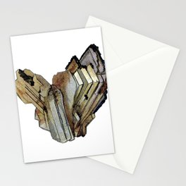 Vintage Rock Crystal Stationery Cards