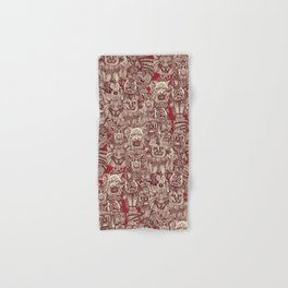 gargoyles red Hand & Bath Towel