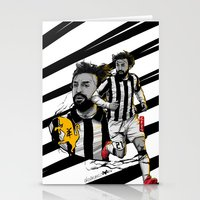 juventus Stationery Cards featuring L'architetto Di Torino by Akyanyme