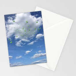 Lyme Green Balloon Launch - Ticks :( Stationery Cards