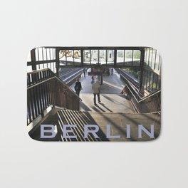 Suburban railway station of Berlin Bath Mat