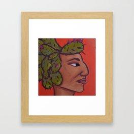 Native Face 5 Framed Art Print