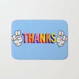 """Thanks"" Bath Mat"