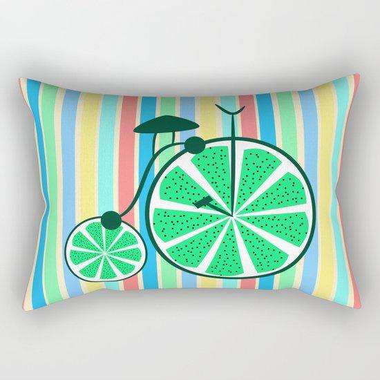 Kiwi ride Rectangular Pillow