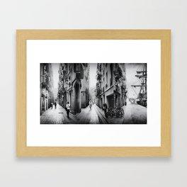 Im/possible Barcelona Framed Art Print