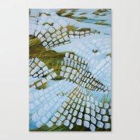 john snow Canvas Prints featuring Snow by John Turck