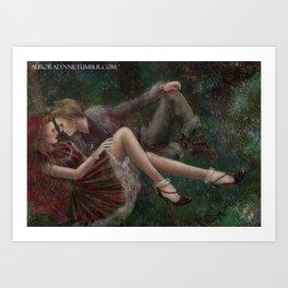 Magic Tales Series - Little Red Riding Hood Art Print