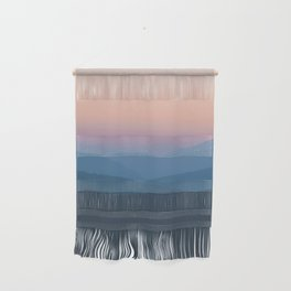Sunset over Nepal Wall Hanging