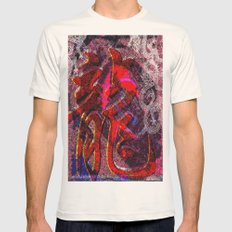 Neon Encyclopedia Mens Fitted Tee Natural SMALL
